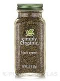 Black Pepper Medium Grind - 2.31 oz (65 Grams)