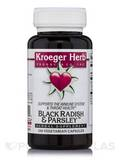 Black Radish & Parsley 100 Vegetarian Capsules