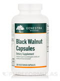 Black Walnut 180 Vegetable Capsules