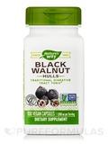 Black Walnut Hulls 500 mg 100 Capsules