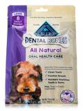 BLUE Dental Bones Large Size for Dogs 50 lbs & above - 8 Daily Bones (12 oz / 340 Grams)