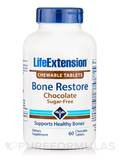 Bone Restore Chewable Tablets, Sugar-Free, Chocolate Flavor - 60 Chewable Tablets