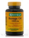 Borage Oil 1000 mg - 100 Softgels
