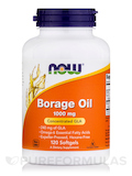 Borage Oil 1000 mg - 120 Softgels
