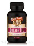 Borage Oil 1000 mg 60 Softgels