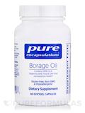 Borage Oil 1,000 mg - 60 Softgel Capsules