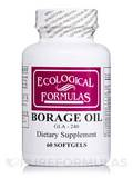 Borage Oil GLA-240 - 60 Softgels