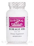 Borage Oil GLA-240 60 Capsules