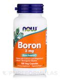 Boron 3 mg 100 Capsules