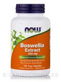 Boswellia Extract 250 mg Plus Turmeric Root - 120 Vegetable Capsules