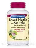 Breast Health with Maitake Bio-Beta-Glucan - 90 Vegetarian Capsules