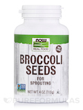 NOW Real Food® - Broccoli Seeds - 4 oz (113 Grams)