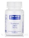 Bromelain 2400 250 mg 60 Capsules
