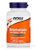 Bromelain 2400 GDU/g 500 mg 120 Vegetarian Capsules