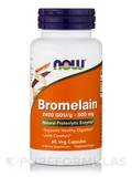 Bromelain 2400 GDU/g 500 mg - 60 Veg Capsules