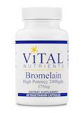 Bromelain (2400 gdu) 375 mg - 60 Vegetarian Capsules