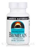 Bromelain 500 mg 2000 GDU - 30 Capsules