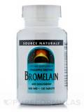 Bromelain 500 mg 600 GDU 120 Tablets