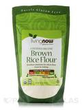 LivingNow™ Brown Rice Flour (Certified Organic) - 16 oz (454 Grams)