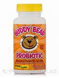 Buddy Bear Probiotic 60 Chewable Bear Tablets (F)
