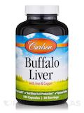 Buffalo Liver 180 Capsules