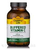 Buffered Vitamin C 1000 mg with Bioflavonoids - 100 Tablets