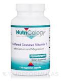 Buffered Vitamin C Cassava Root Source - 120 Vegetarian Capsules