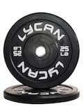 Bumper Plate - Black - 25 lb Pair