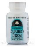 Butchers Broom 500 mg 100 Tablets