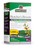 Butcher's Broom Root 1000 mg - 90 Vegetarian Capsules