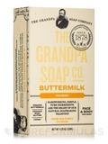Buttermilk Bar Soap - 4.25 oz (120 Grams)