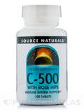 C-500 with Rose Hips - 100 Tablets