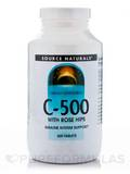 C - 500 with Rose Hips 500 Tablets