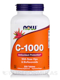 C-1000 with Rose Hips & Bioflavonoids - 250 Tablets