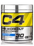 C4 Pre-Workout Icy Blue Razz Flavor - 30 Servings (6.87 oz / 195 Grams)