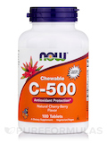 C-500 (Chewable), Natural Cherry-Berry Flavor - 100 Tablets