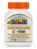 C-500 (Orange) 110 Chewable Tablets