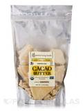 Cacao Butter, Verified Raw - 16 oz (454 Grams)