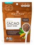 Organic Cacao Sweet Nibs - 4 oz (113 Grams)