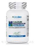 Calcium, Magnesium, Potassium with Enzymes 90 Vegetable Capsules