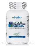Calcium- Magnesium-Potassium - 90 Vegetable Capsules