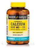 Calcium 600 mg + D3, Coffee Mocha Flavor - 100 Chewables