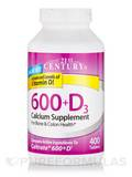 Calcium 600 plus D - 400 Tablets