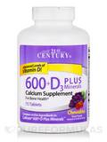 Calcium 600 plus D3 with Minerals 75 Chewable Tablets