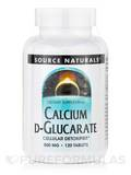 Calcium D-Glucarate 500 mg 120 Tablets