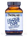 Calcium Lactate Caps 100 Capsules
