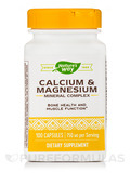 Calcium and Magnesium 100 Capsules