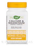 Calcium and Magnesium - 100 Capsules