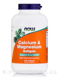 Calcium & Magnesium 240 Softgels