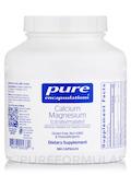 Calcium Magnesium (citrate/malate) - 180 Capsules
